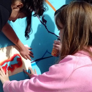 art workshop paint