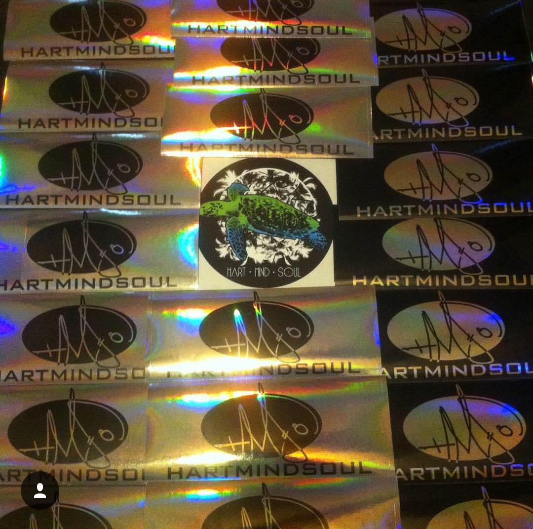 custom foil stickers portland