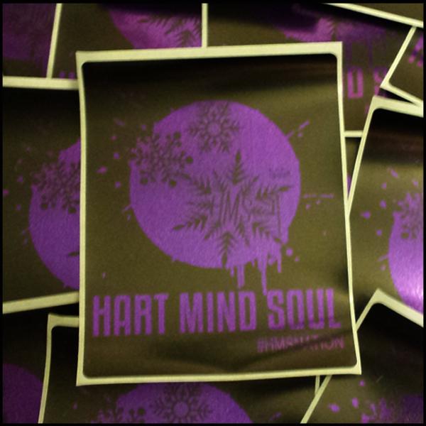 purple-heart-mind-soul-custom-foil-sticker-printing