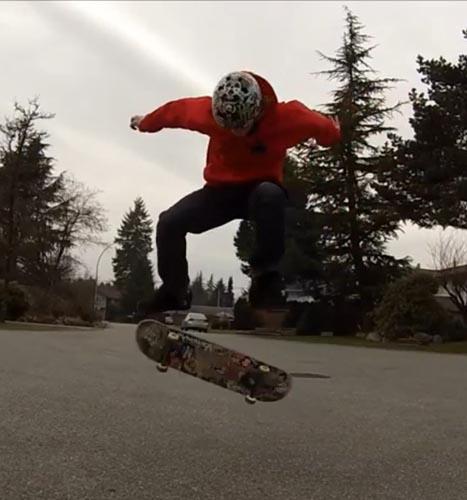 HMS skateboard tricks portland