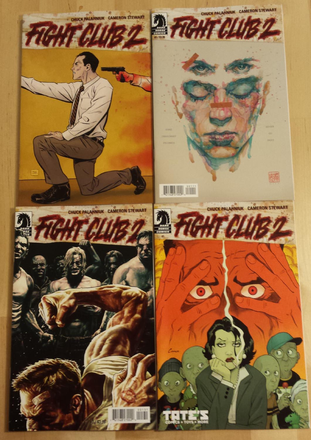 fight club comic
