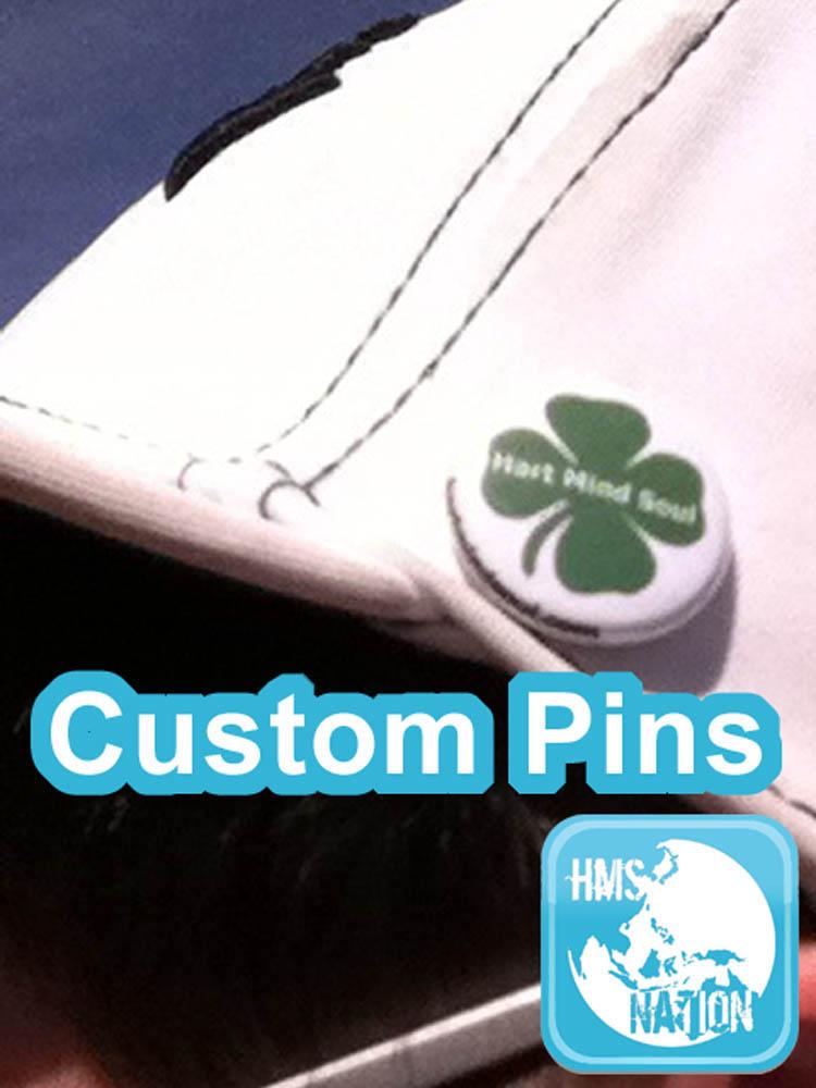 custom pins buttons portland