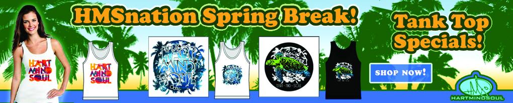 portland spring break tank top special