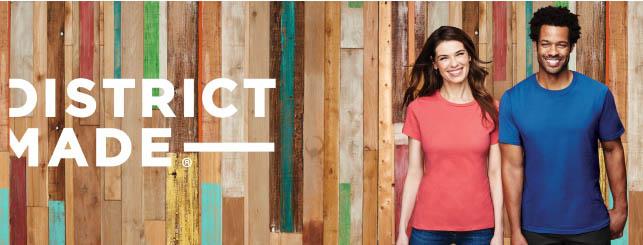 District Made T shirt printing Portland