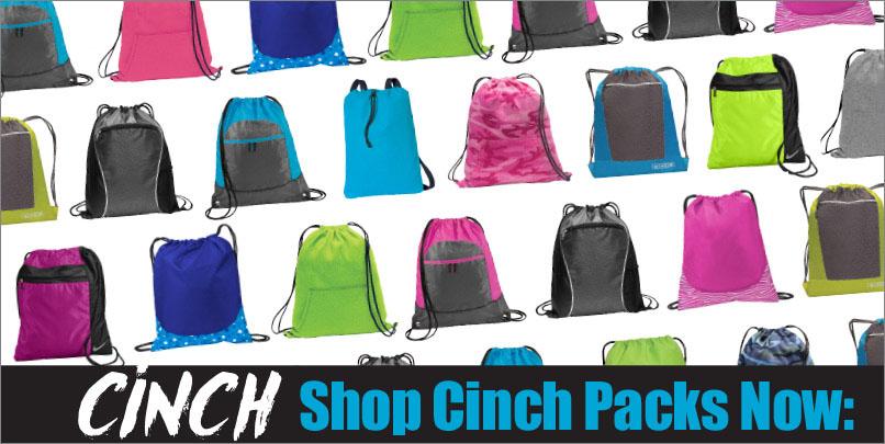 custom printed cinch pack bags portland