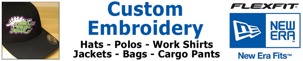 HMS custom embroidery portland
