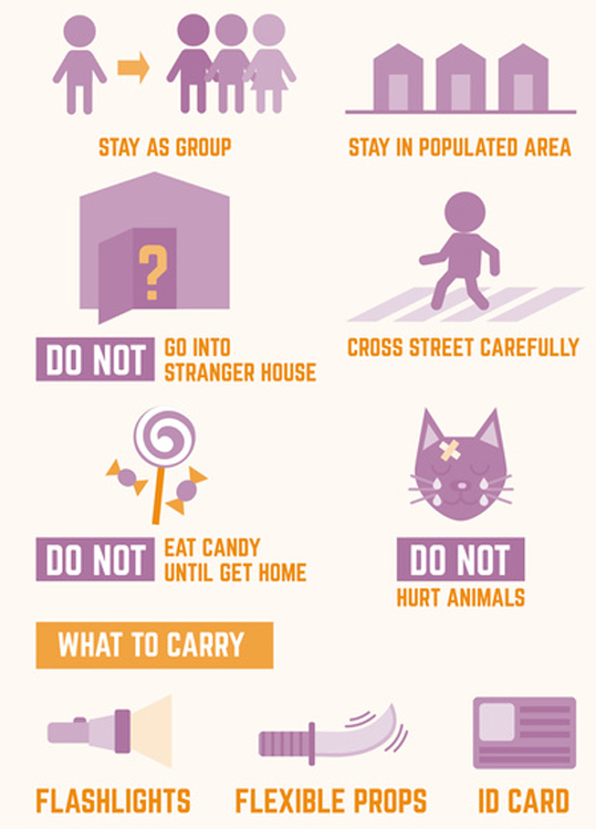 Heart Mind Soul halloween safety tips