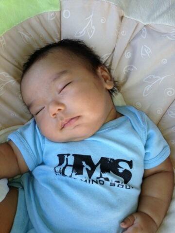 screen printing on baby onesies