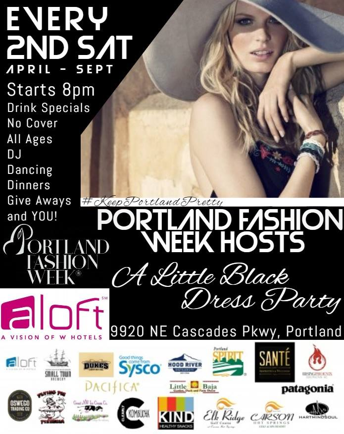 little black dress party Portland