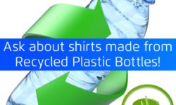 buy shirts made from recycled plastic bottles