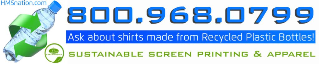 shirts made with recycled plastic bottles