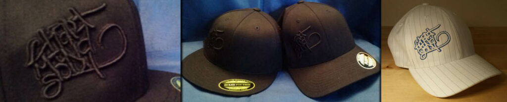 3D Puff Embroidery on hats