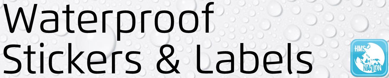 Buy waterproof custom sticker labels