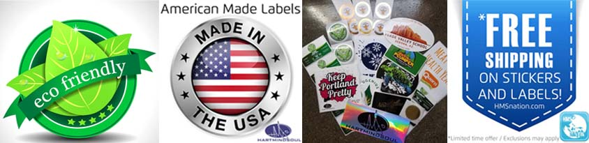 custom stickers and labels Portland