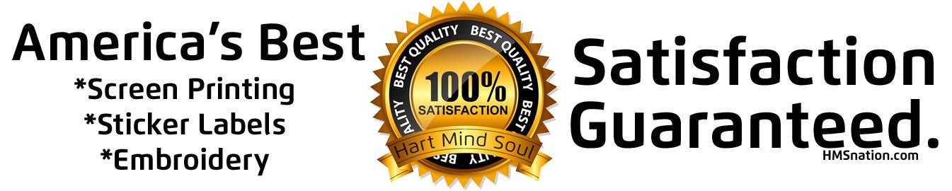 hart mind soul satisfaction guarantee banner