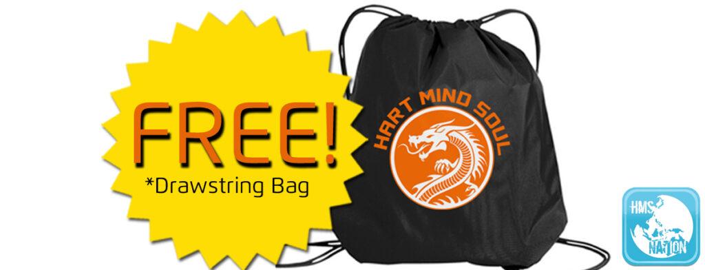 how to get a free drawstring bag