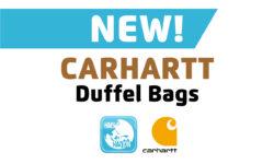 New Carhartt Duffel Bag Styles