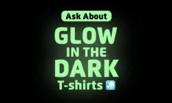 Glow In The Dark T Shirts