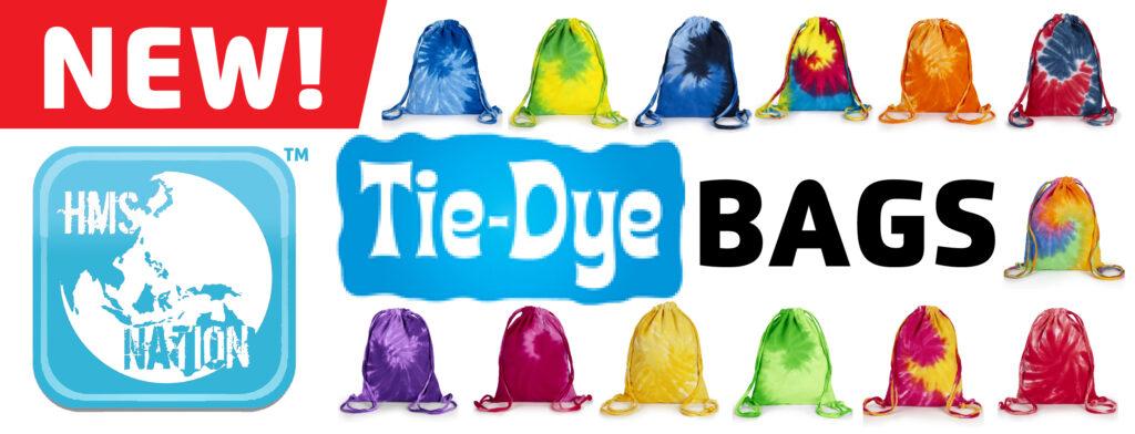 Tie Dye Drawstring Bags