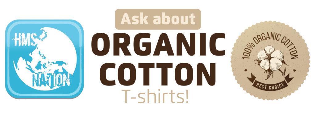 100% Organic Cotton T Shirts